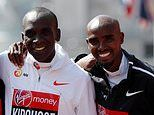 Eliud Kipchoge relishing prospect of taking on Mo Farah in London Marathon