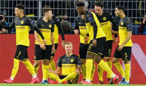 How Haaland reacted to breaking record with double for Borussia Dortmund against PSG
