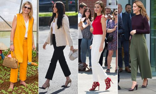 Royal ladies wearing comfortable trousers! See Kate Middleton, Sophie Wessex and more