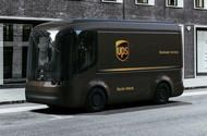 UPS orders 10,000 electric vans from British start-up Arrival