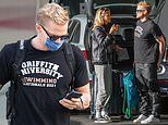 Marloes Stevens comforts boyfriend Cody Simpson after he bombs at Olympics swimming trials