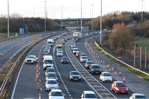 Most 'moaned about' motorways revealed from driver's tweets