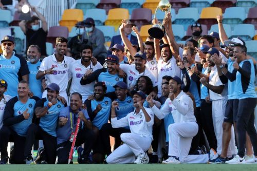 England head coach Chris Silverwood reveals his reaction to India beating Australia