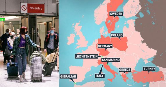 Revealed: The nine countries where Brits can travel without quarantine or a test
