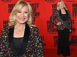 Kerri-Anne Kennerley, 65, cuts a stylish figure at the opening night of West Side Story in Sydney