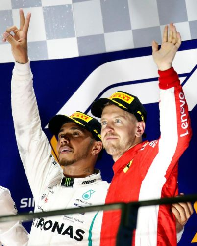 Lewis Hamilton reflects on a dominant win for Mercedes in Singapore - video