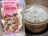 Shoppers are going wild for these pork and ginger dumplings from Aldi - and they cost less than $6