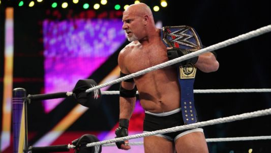 WWE legend Goldberg sports full head of hair and clean shaven look in rare unrecognisable photo