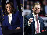 Eric Trump 'liked' a tweet describing Kamala Harris as 'wh*rendous'