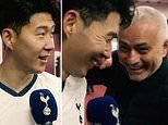 Jose Mourinho shares joke with Son Heung-min after he wastes chances before hitting late winner