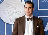 Sacha Baron Cohen gives fan a handwritten note from his alter ego Borat