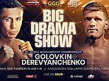 Gennady Golovkin to face Sergiy Derevyanchenko in IBF world middleweight fight