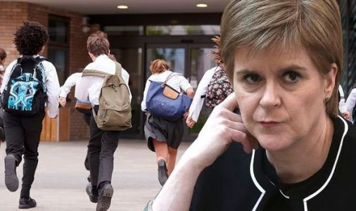 Sturgeon told she has 'failed' students as figures show LESS THAN HALF of pupils learning