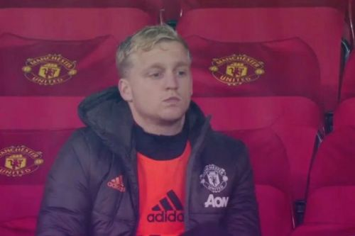 Donny van de Beek told he's not playing for Man Utd because of transfer mistake