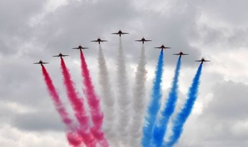 Red Arrows flight time: What time will you see the flypast in YOUR city?