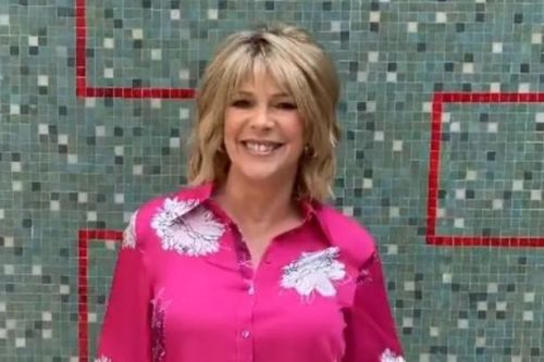 Ruth Langsford ups her fashion on This Morning, giving Holly a run for her money