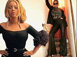 Beyonce sends fans into a frenzy as she models skintight outfits in Italy