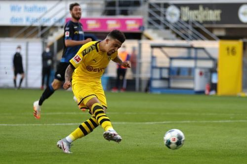 Jadon Sancho nets hat-trick and sets new record in Borussia Dortmund win