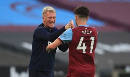 West Ham David Moyes addresses Man Utd and Chelsea's Declan Rice transfer interest