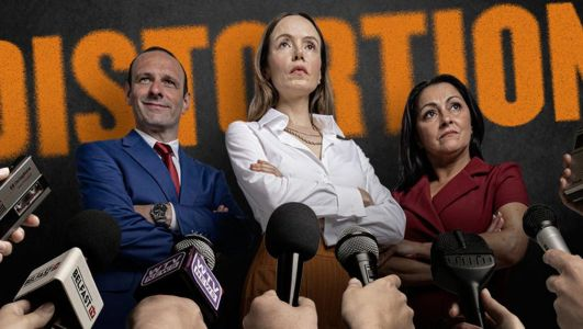 Distortion: Controversial play about politics in Northern Ireland to cause speculation about who's being portrayed