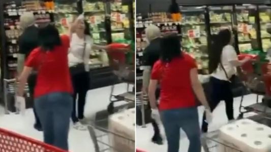 Angry shoppers shame woman in NY store for not wearing mask then kick her out