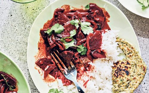 Curried beetroot in coconut milk recipe