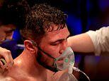 Dave Allen taken to hospital after defeat by David Price at O2 Arena