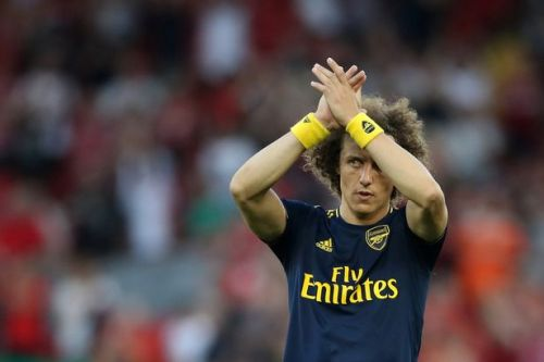 David Luiz sends message to Arsenal fans after Liverpool horror show