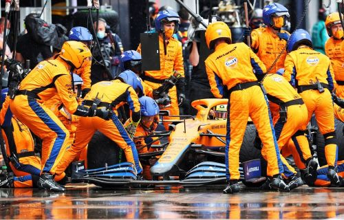 McLaren back plans for Friday young driver running