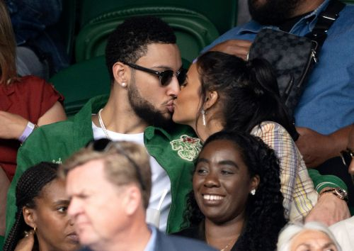 Maya Jama kisses boyfriend Ben Simmons in sweet birthday photos and enlists mariachi band for big day