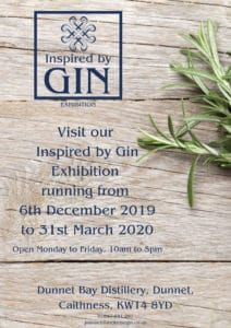 Inspired by Gin Exhibition