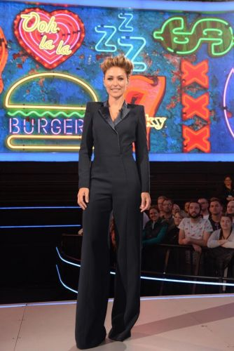 Celebrity Big Brother's Emma Willis wows fans in chic tuxedo suit as next series starts tonight