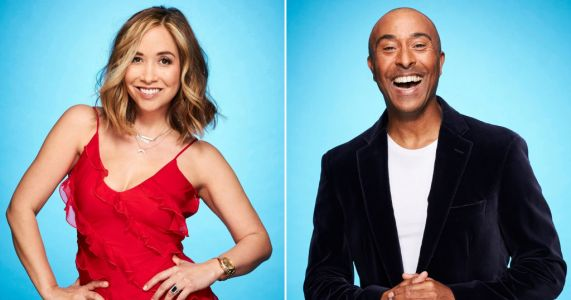 Dancing On Ice's Colin Jackson thinks Myleene Klass is the one to watch as he compares skating to Strictly