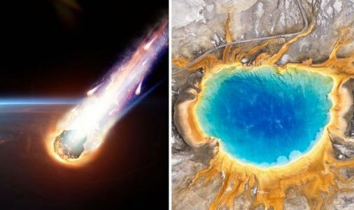 Asteroid shock: What would happen if an asteroid hit Yellowstone volcano?