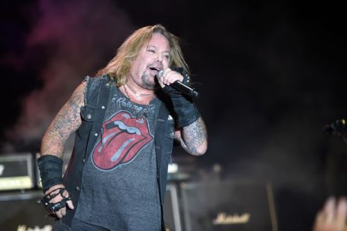 Motley Crue rocker Vince Neil taken to hospital after fall off stage during Tennessee show