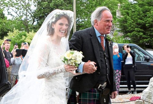Game of Thrones stars Rose Leslie and Kit Harington get married in north-east
