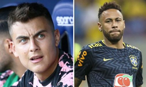 Transfer news LIVE: Neymar to Barcelona update as replacement found, Dybala development
