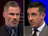Jamie Carragher slams Gary Neville for 'talking like Manchester United are a small club'