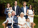 Prince Charles marks 70th birthday milestone with family photograph