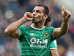 Newcastle 1-1 Wolves: Ten-man Magpies held to draw after second-half Jonny volley for the visitors