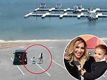 Sheriff's release CCTV footage of Naya Rivera and her son Josey boarding boat