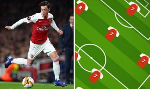Arsenal player ratings: ONE star shines with a 9 as Mesut Ozil grabs 7 out of 10 on return