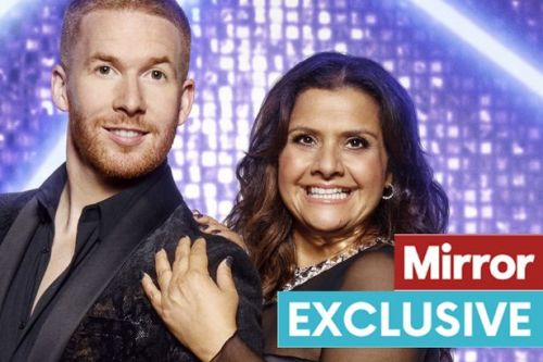 Strictly's Nina Wadia says her body 'is being held together by tape' after training