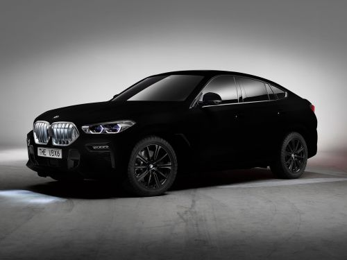 BMW has created the world's blackest car, and looking at it is like 'staring into a void'