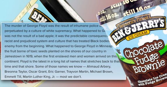 Ben & Jerry's calls to 'dismantle white supremacy' in powerful statement about Black Lives Matter protests