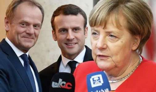 Brexit LIVE: 'We NEED them' Merkel FURIOUS at Macron and Tusk as they look to punish UK