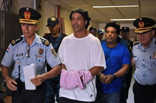 Barcelona legend Ronaldinho released from maximum security prison in Paraguay and placed under house arrest