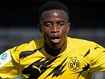 Dortmund's 15-year-old Youssoufa Moukoko to be named in Champions League squad, and could become youngest ever debutant