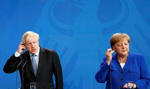 'It has to go' Boris Johnson tells Angela Merkel to scrap backstop to strike a Brexit deal