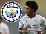 Manchester City discuss £46m move for Sevilla centre-back Jules Kounde after opening offer rejected